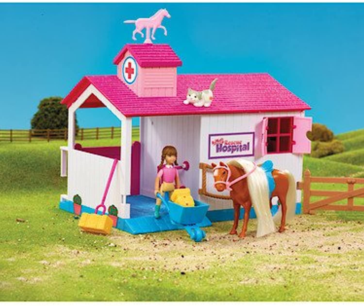 Animagic Rescue Hospital blueebell Stables Action Figure