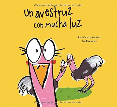 Un avestruz con mucha luz (Español Somos8)