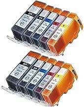 4 Cartucce di inchiostro nero per Canon pgi5bk Pixma mp600 mp600r mp610 mp800 mp800r