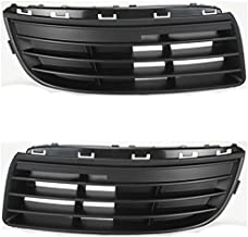 Koolzap For 05-10 VW Jetta Lower Front Bumper Grill Grille Assembly Left Right Side SET PAIR