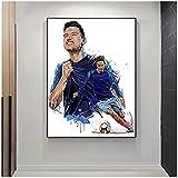 Thauvin Leinwand Gemälde Olympique De Marseille Poster und