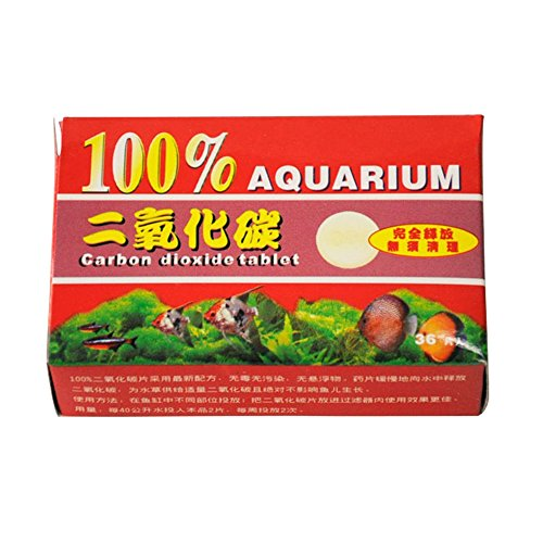 hanyia 1 Boîte * 36 Pcs Aquarium CO2 Comprimés de Dioxyde de Carbone Pour les Plantes d'Aquarium
