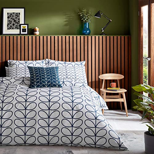 Orla Kiely Linear Stem Whale Bedding Bedding: Duvet Cover, Super King 260x220cm