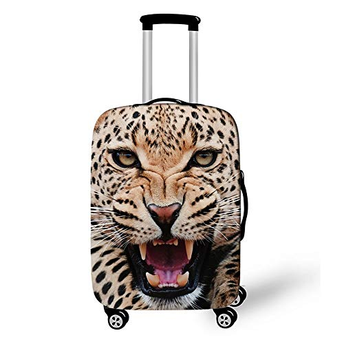 Elastic Luggage Cover, CNNINHAO 3D Print Trolley Case Protective Travel Suitcase Anti Scratch Dustproof Resistant Case Trolley Skin Protector Elasticized Washable (1,XL (30-32inch))