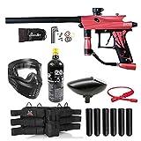 Maddog Azodin KAOS 3 Titanium Paintball Gun Marker Starter Package - Pink/Black