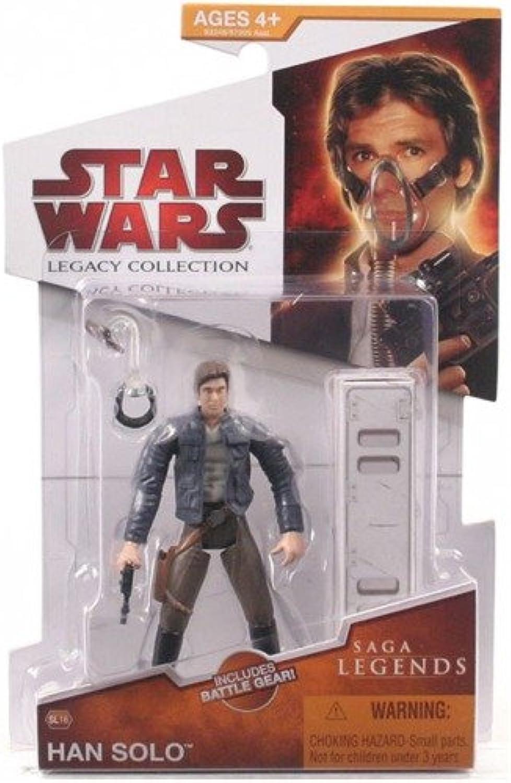 Hasbro Han Solo Saga Legends Sl16 Legacy Collection Star Wars Action Figure