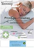 King of Dreams 2X Protèges Matelas 70x190 Imperméable - Hygiènique - pour Matelas de 13 à 35 cm de Hauteur - Absorbant et Respirant - Barrière Anti-Acariens