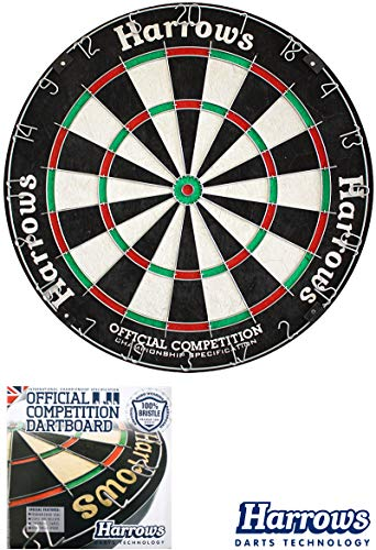 Harrows Dartboard Dart Dartscheibe Bristle-Board OCBB für Steeldarts Darts