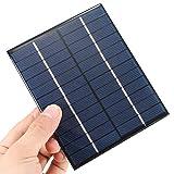 Panel Solar 6 V 2 W 136 * 110 * 3 mm caga baterías 3.7V modulo 6V 2W Panel DIY CELULA FOTOVOLTAICA