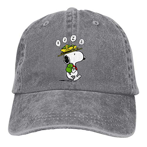 Snoopy Leichte, schnell trocknende, atmungsaktive Baseballkappe Outdoor-Laufmütze Fashion Tide Cap Lässiger Sonnenhut Verstellbarer klassischer Sporthut