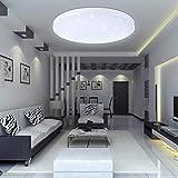 VINGO® 16W LED Deckenleuchte Kaltweiß Starlight sternen deckenlampe schlafzimmer