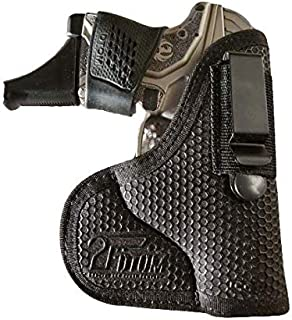 DTOM Combination Pocket/IWB Holster for Keltec P32 P3AT, Taurus 738 TCP 380, Ruger LCP..