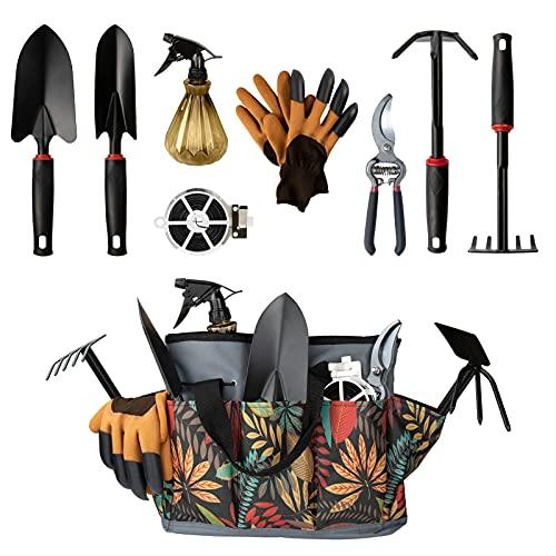Garden tool set,10pcs Upgrade Al...