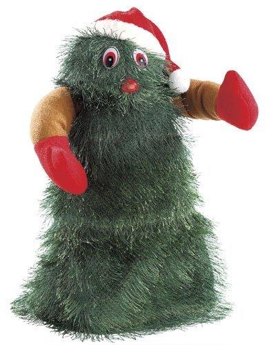 "infactory Singender, tanzender Weihnachtsbaum ""Swinging Xmas Tree"", 27 cm"