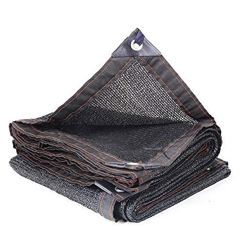 YAOJIA Malla sombreadora, 85% Tela De Sombreado, Engrosamiento Cifrado Negro Que Se Utiliza En El Exterior Terraza del Jardín del Partido del Sol Toldo Toldo, 23 Tamaños (Color : A, Size : 3x7m)