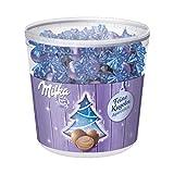 Milka Feine Kugeln Alpenmilch – Zartschmelzende Schokolade mit Alpenmilch Füllung