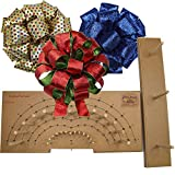 Pro Bow - The Hand Bow Maker (Large) - Make Custom 3 Ribbon Bows for Holiday Wreaths and M...