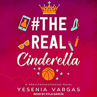 #TheRealCinderella audiobook cover art