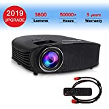 Video Projector,DHAWS 3800LM 1080P Full HD HDMI Office Projector for Laptop Business...