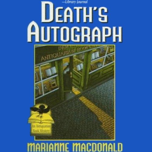 Death's Autograph audiobook cover art