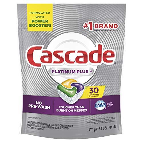 Cascade Platinum Dishwasher Pods, Actionpacs...