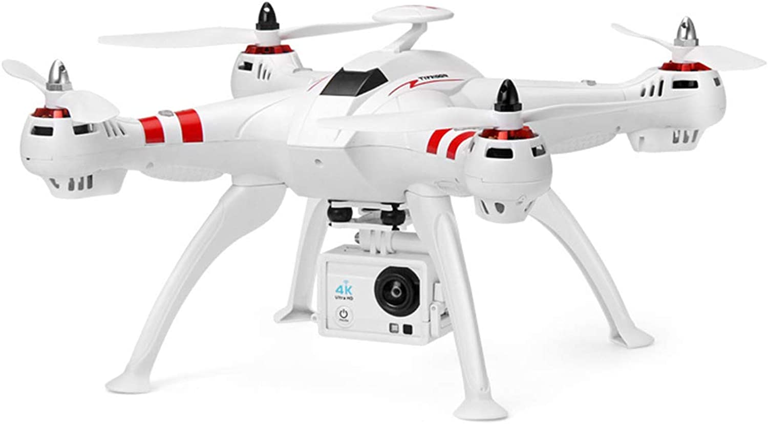 GPS drone 4K ultra long continuous aerial camera, HD professional aircraft, 1 km intelligent fouraxis remote control aircraft, height maintenance, smart battery,40 million pixelsThree batteries