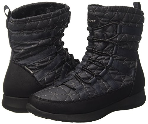 Skechers Damen Boulder Stiefel, Grau - 5
