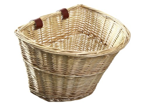 wicker basket for bicycle - 1
