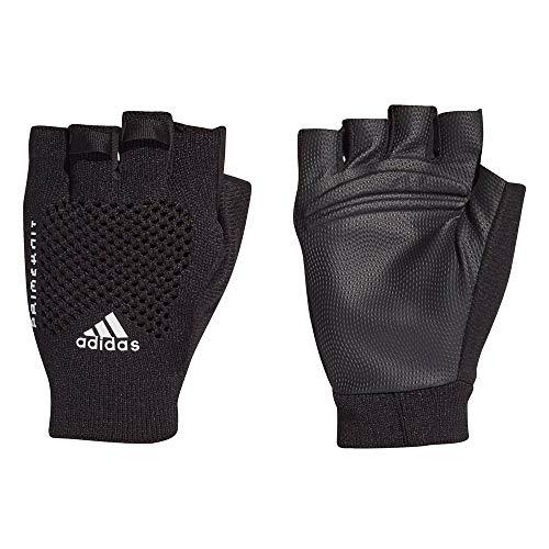 adidas Primeknit GL U Sports Gloves, Unisex Adulto, Black/White, M