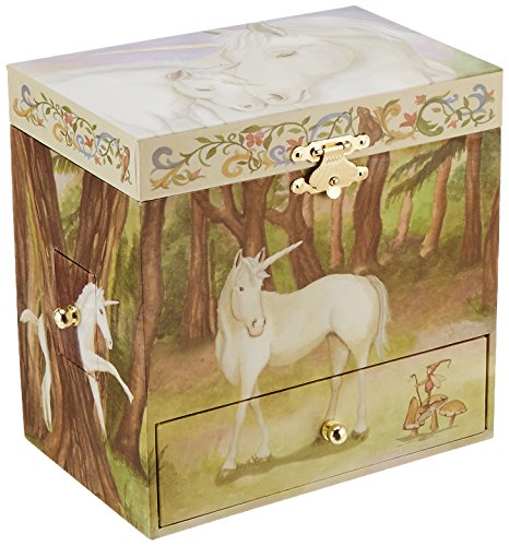 Enchantmints Unicorn Music Jewelry Box 4