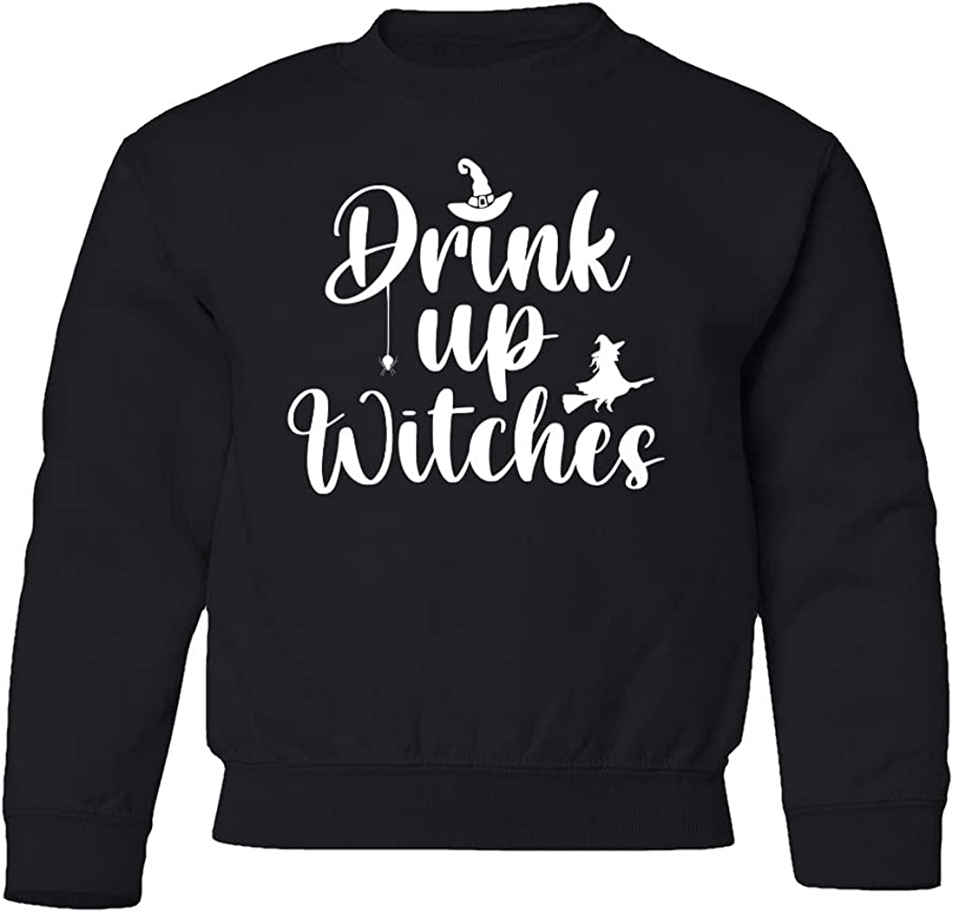 Drink Up Witches Funny Youth Crewneck Decor Sweater NEW Limited time trial price before selling ☆