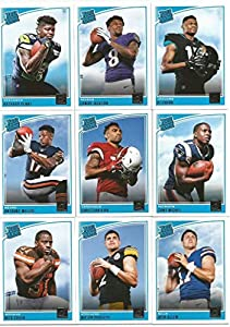 2018 Donruss Football Complete MINT Not Sealed, No Patch Card Official NFL Set of 400 Cards Includes Rookie Cards of Josh Allen, Baker Mayfield, Josh Rosen, Saquon Barkley, Sam Darnold, Bradley Chubb, Nick Chubby, Guice and stars Patrick Mahomes, Carson W