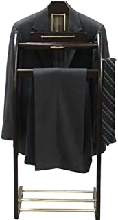 Mens Executive Style Valet Suit Stand Clothing Coat Rack Clothes Organizer Racks VL16140 by Proman