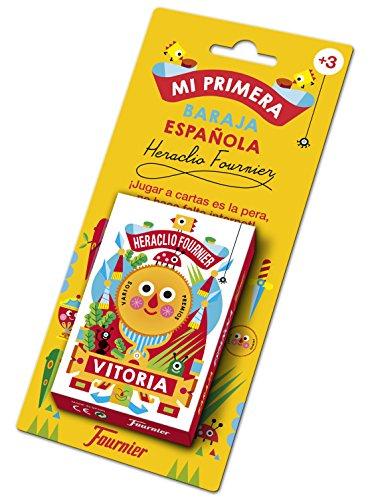 Fournier- Mi Primera Baraja Española Cartas Infantil,  Multicolor (1030939)