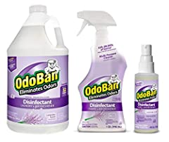 OdoBan, odor eliminator and disinfectant, eliminates unpleasant odors, cleans, disinfects, sanitizes and deodorizes household surfaces while leaving a fresh scent This industrial liquid odor eliminator leaves no residue and has a variety of uses Mult...