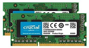 Crucial RAM 16GB Kit  2x8GB  DDR3 1600 MHz CL11 Memory for Mac CT2K8G3S160BM