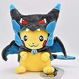 Peluches 23cm Charizard X & Y Cosplay Pikachu Peluche Muñecos De...