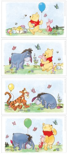 Fun House - 712057 - Ameublement et Décoration - Stickers Disney - Winnie The Pooh Poster