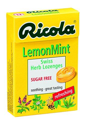 Ricola Zitronenmelisse zuckerfrei Box