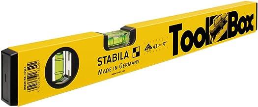 STABILA Wasserwaagen-Set Typ 80U 60cm /& 180cm Kammeyer-Grupp Edition