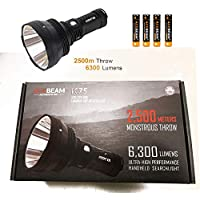 Acebeam K75 2500 Meters Throw Awesome 6300 Lumens Flashlight
