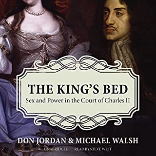 The King's Bed audiobook cover art