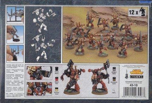 Games Workshop - Chaos Marines Khorne Berserkers