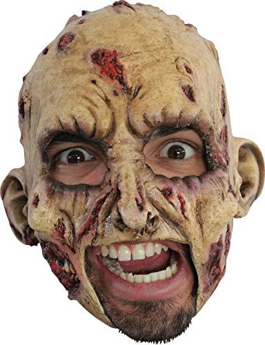 Máscara de monstruo zombi para adulto Halloween