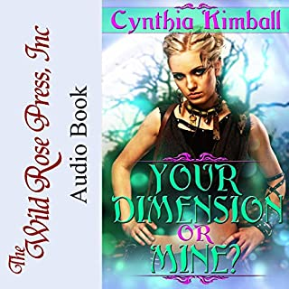 Your Dimension or Mine? audiobook cover art