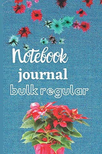 """notebook journal bulk Regular: ined Journal, 6"""" X 9"""", Hardcover, Back Pocket, Strong Twin-Wire Binding with Premium Paper, College Ruled Spiral Notebook/Journal"""