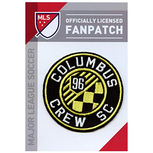 Columbus Crew Soccer Team Crest Embroidered Jersey MLS Futball Patch