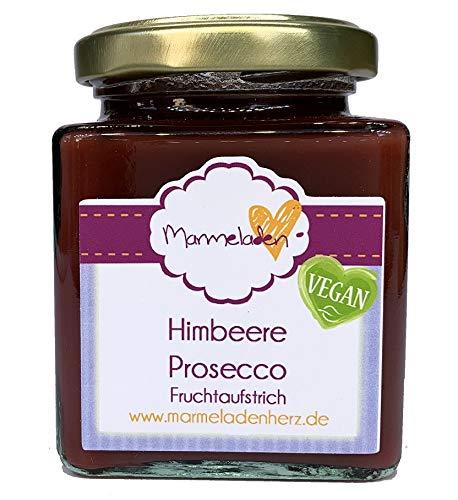 220g - Marmeladenherz - Fruchtaufstrich - verschiedene Sorten - vegan (Himbeere Prosecco)