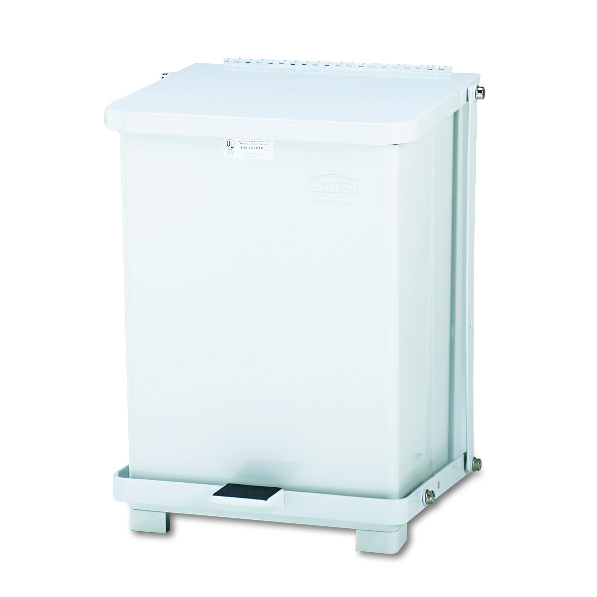 Rubbermaid Commercial ST7EWHPL Free shipping on posting reviews Defenders Step Squ Biohazard Can Louisville-Jefferson County Mall