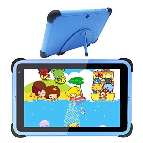 Tablet da 7 pollici per bambini Tablet Android 10 per bambini, 2 GB di RAM 32 GB di spazio di archiviazione Tablet Wi-Fi, tablet per l apprendimento dei bambini Custodia a prova di bambino (blu)
